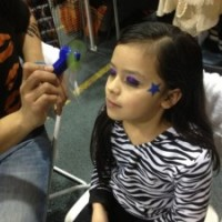 Pow Wow Makeup Girl Model