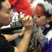 Isaac Meyers Pow Wow Makeup Secrets